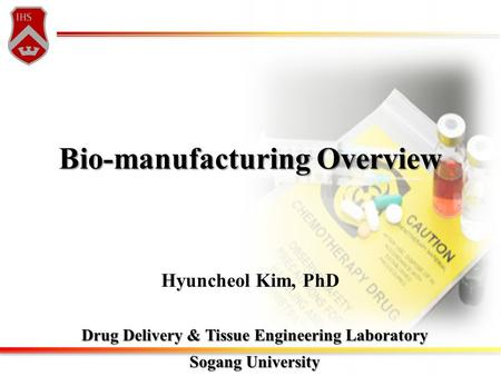 Bio-manufacturing Overview