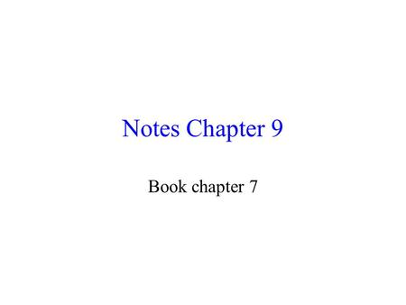 "Notes Chapter 9 Book chapter 7. 9-1 Nature of Solutions *Solution: p229 homo mixture in which one subst is dissolved in another subst "" Well mixed """