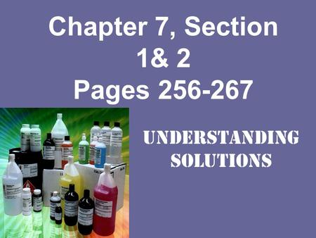 Chapter 7, Section 1& 2 Pages