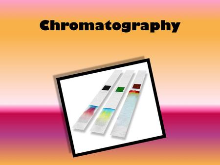 Chromatography. Match these key words with the correct definitions: Starter SOLVENT SOLUTE AQUEOUS SOLUTION SOLUTION NON-AQUEOUS SOLUTION.