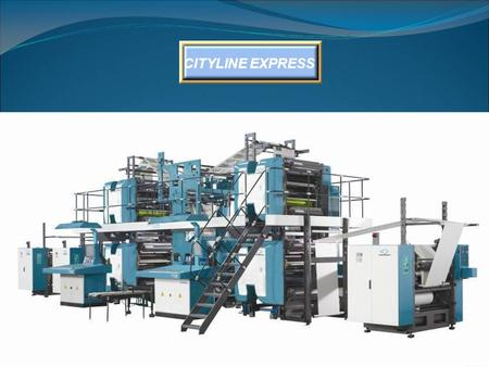 CITYLINE EXPRESS. FEATURES 35,000 copies per hour. For newspaper printing, inserts, supplements, books and magazine printing. For medium circulation dailies.