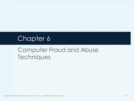 computer fraud and techniques Read about the number of ways you can avoid becoming a victim of fraud on your computer.