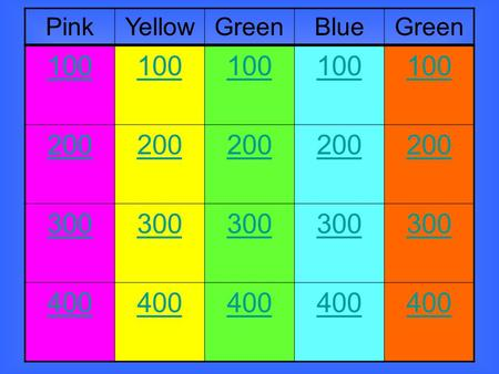 100 200 300 400 PinkYellowGreenBlueGreen. To join at one end or be next to Synonyms: border on, bolster.
