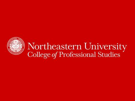 Welcome to Northeastern! Introducing University Career Services & CPS Co-op.