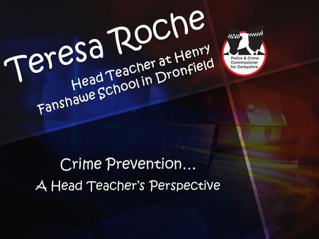 Head Teacher at Henry Fanshawe School in Dronfield