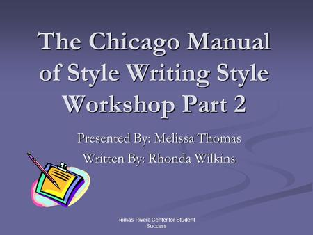 chicago style citation unpublished thesis