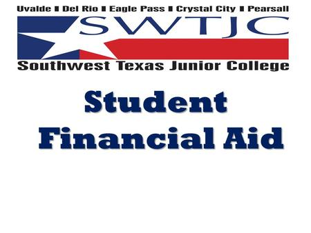 Student Financial Aid. FAFSA UPDATES The 2014-2015 Free Application for Federal Student Aid, or FAFSA, will provide a new option for dependent applicants.