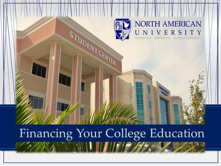 Financing Your College Education. We are accredited by ACICS (Accreditation for Independent Colleges And Schools) and regulated by the Department of Education.