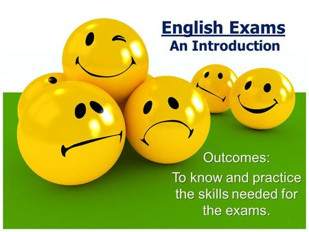 English Exams An Introduction