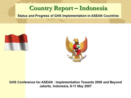 Country Report – Indonesia