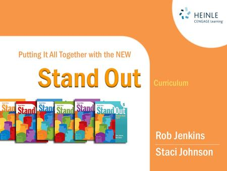 Putting It All Together with the NEW Rob Jenkins Staci Johnson Curriculum.