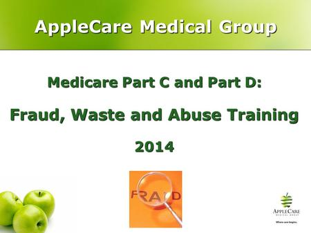 AppleCare Medical Group