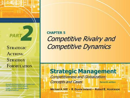 strategic management case bitter competition Bitter in management education case method of  in a management case  requiring strategic as well as tactical the importance of.