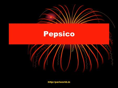 Pepsico  CONTENTS MISSION LOGO AND ITS RELEVANCE. COMPANY INVESTORS SOCIAL RESPONSIBILITIES DIVERSITY NEWS QUERIES……????