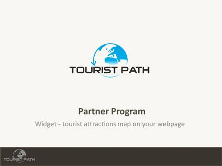Partner Program Widget - tourist attractions map on your webpage.