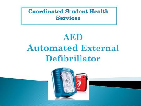  Florida Statue 1006.165 requires all high schools that are members of the Florida High School Athletic Association to have an automated external defibrillator.