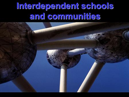 Interdependent schools and communities. Agenda Review strategic priority area and place within Regional plan Review strategic action to date Discuss and.