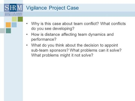 Vigilance Project Case