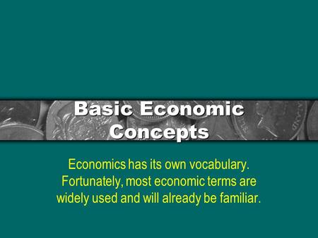 Basic Economic Concepts