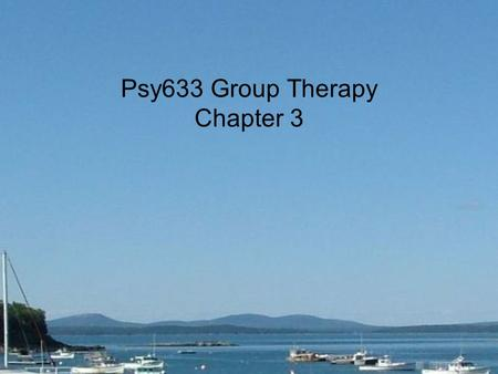 Psy633 Group Therapy Chapter 3. 1. Cohesiveness in group therapy is analogous to _____ in individual therapy. (53) a. technique b. collaboration c. therapeutic.