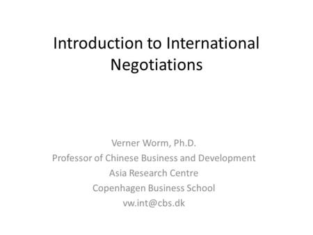 chinese conflict management styles and negotiation