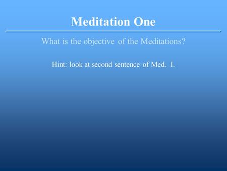 essays on descartes meditation 3