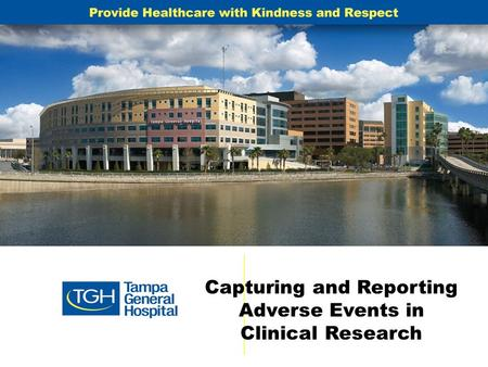 Capturing and Reporting Adverse Events in Clinical Research