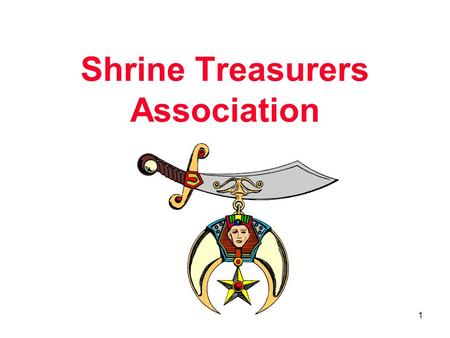 Shrine Treasurers Association 1. What are the Various Business Structures? Sole Proprietorship Partnership Corporation Limited Liability Partnership (LLP)