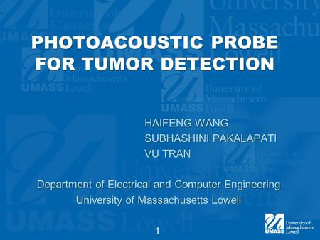 PHOTOACOUSTIC PROBE FOR TUMOR DETECTION
