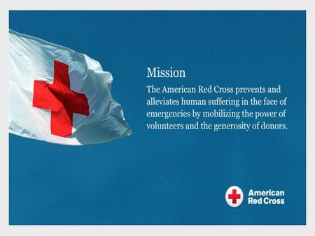 Red Cross Overview Blood Banking Industry Trends Blood Demand Forecasts Red Cross Strategic Plan Agenda 2.