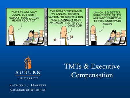 TMTs & Executive Compensation. Top <strong>Management</strong> Team CEO, CFO, CIO, CMO, CAO, COO, CTO, CPO, CNO, CKO, CLO.