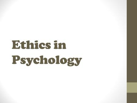 ethics and personality essays in moral psychology Psychology essays: moral development search  the sixth stage of kohlberg's theory is the universal ethical principle  temperament and personality, and.