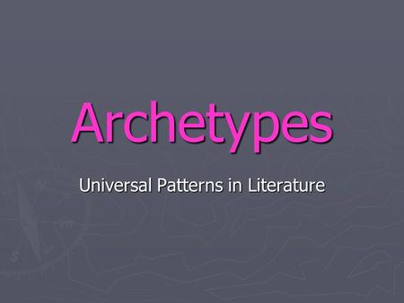 "Archetypes Universal Patterns in Literature. Dr. Carl Jung, Swiss Psychologist ""Father of Archetypes"" circa 1960: Swiss pioneer of psychology Dr Carl."