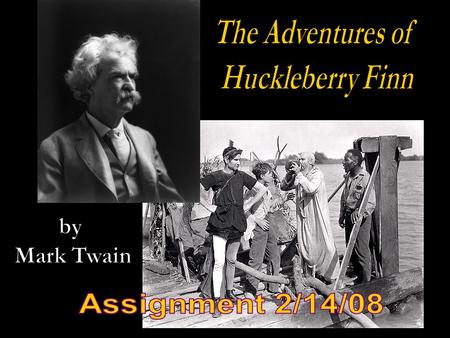 Huck's sense of morality in Huckleberry Finn at times seems quite flexible. He tells fibs on occasion and, indeed, seems to think that the occasional.