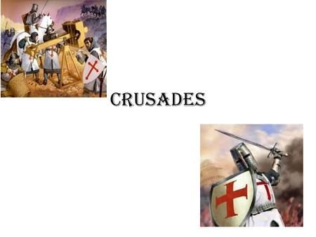 CRUSADES. Muslim- Christian Clash Causes Control of SW Asia 11 th century Religious- Christians sought to re-establish their faith in SW Asia Political-