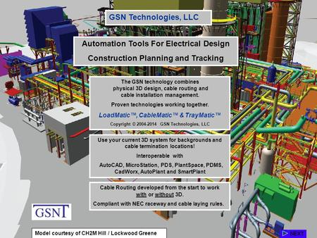 automation tools for electrical design - Autoplant 3d