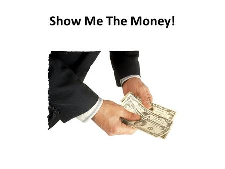Show Me The Money!. Why a Home Based Business? The cost of everything is going up! Everyone needs more money & more deductions! There is no security in.