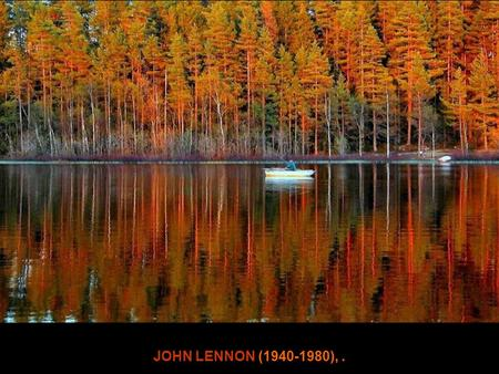 Imagine wave JOHN LENNON (1940-1980),. Imagine there's no Heaven.