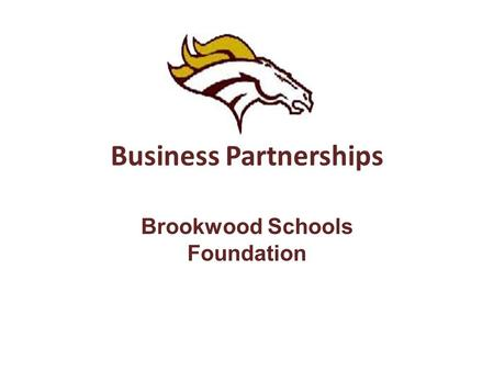 Business Partnerships Brookwood Schools Foundation.