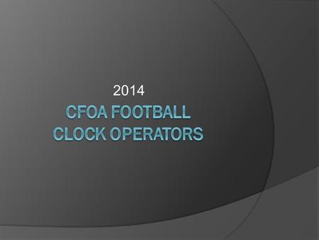 2014. Clock Operator Dress Code  Officials with the following qualifications will dress in full uniform: Scored a 75 or better on the FHSAA test, fingerprints.