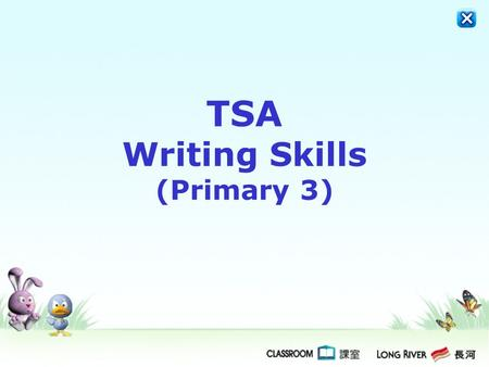 TSA Writing Skills (Primary 3)