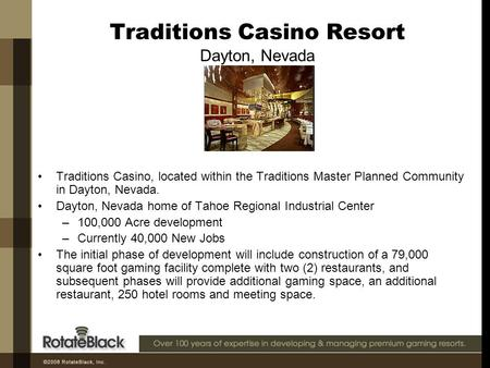 Traditions Casino Resort Dayton, Nevada