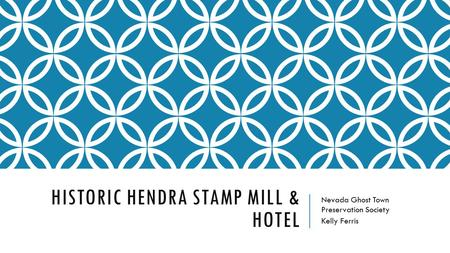 Historic Hendra Stamp Mill & Hotel