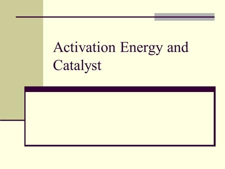 Activation Energy and Catalyst. Temperature and Rate Generally, as temperature increases, so does the reaction rate. This is because k is temperature.