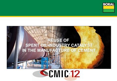 2 Waste to Resource - Fluid Cracking Catalyst potential future alternative fuels and raw materials.