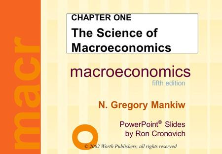 Macroeconomics fifth edition n gregory mankiw powerpoint slides macroeconomics fifth edition n gregory mankiw powerpoint slides by ron cronovich chapter one the toneelgroepblik Gallery