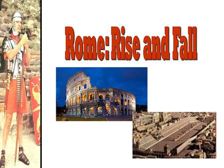 The Geography of Rome Italy in 750 BCE Influence of the Etruscans  Writing  Religion  The Arch.