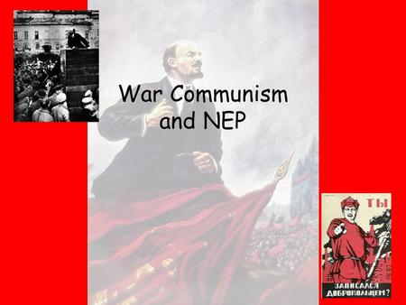 War communism and nep essay