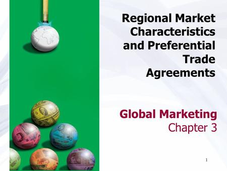 Global Marketing Chapter 3