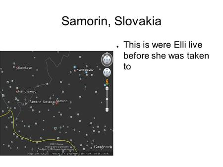 Samorin, Slovakia ● This is were Elli live before she was taken to.